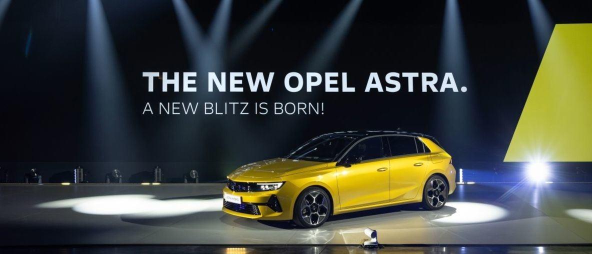 Opel Astra Press Kit