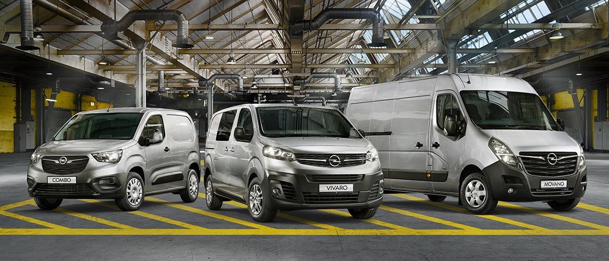 Opel haszongépjármű