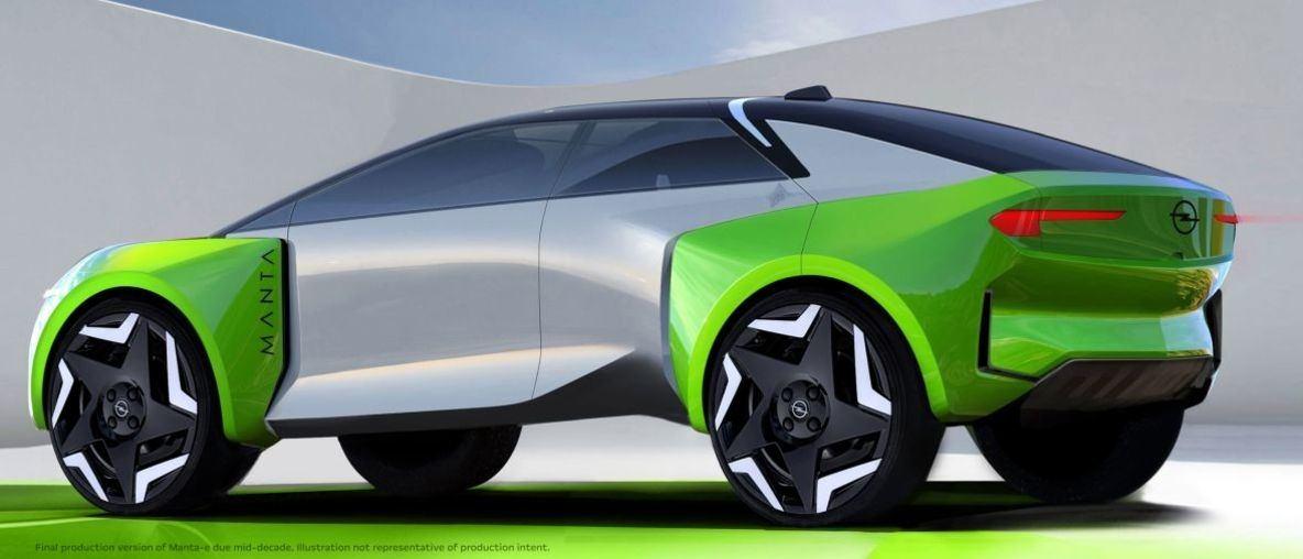 Az Opel teljesen elektromos lesz, belép a kínai piacra, a Manta-e pedig valósággá válik