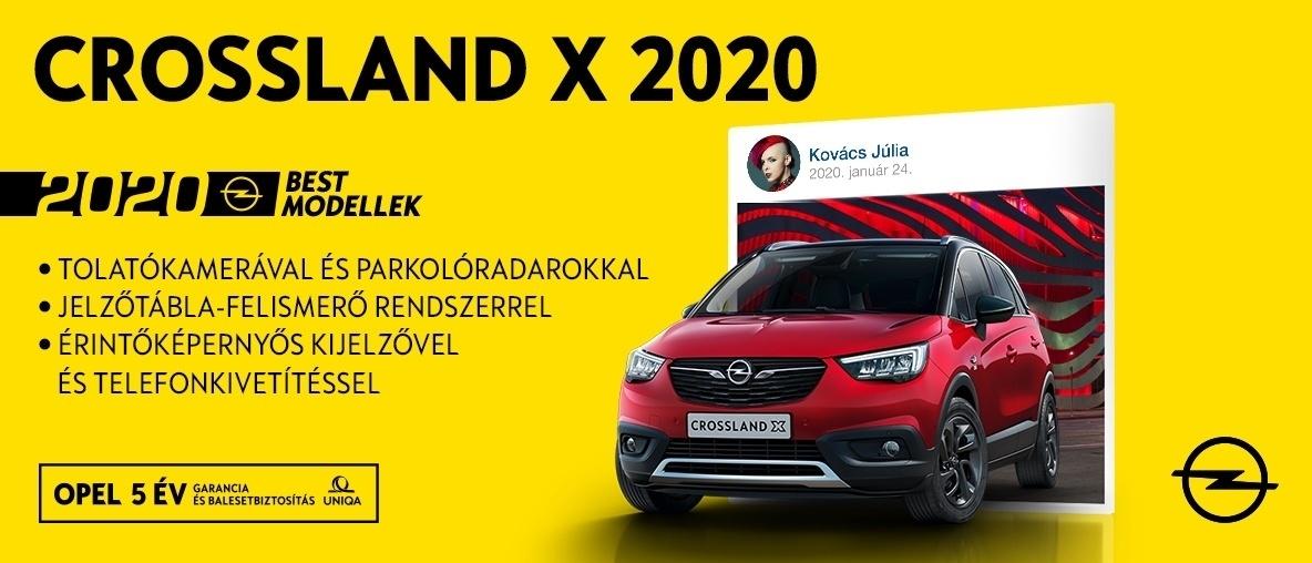 Akciós Crossland ajánlat Opel Wallistól