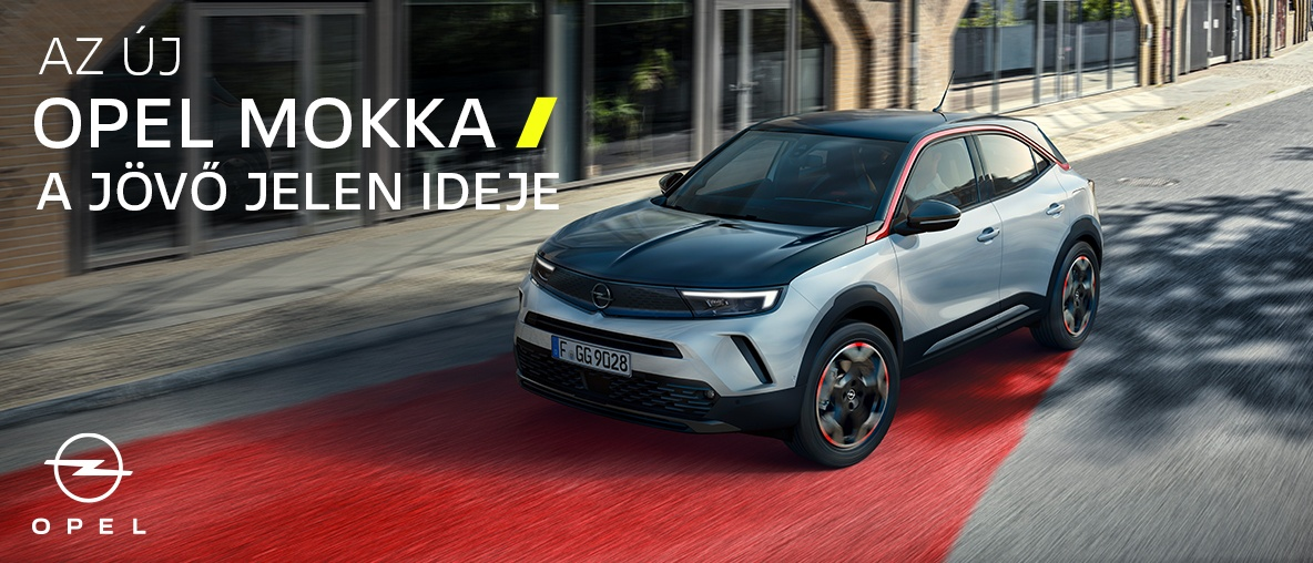 új Opel Mokka és Mokka-e