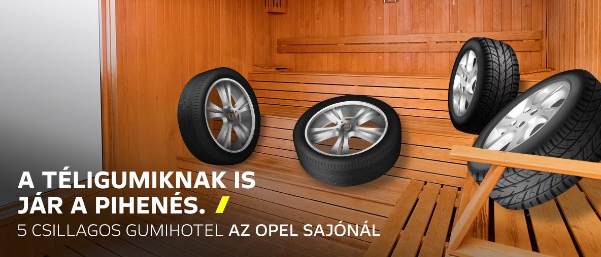 Opel Sajó gumihotel gumicsere szolgáltatás