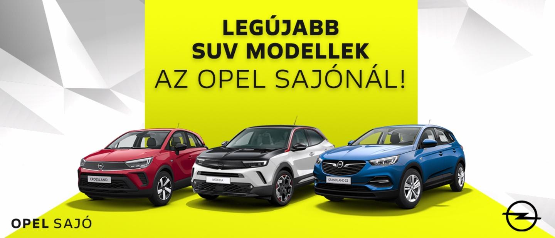 Opel Crossland, Opel Mokka, Opel Grandland X