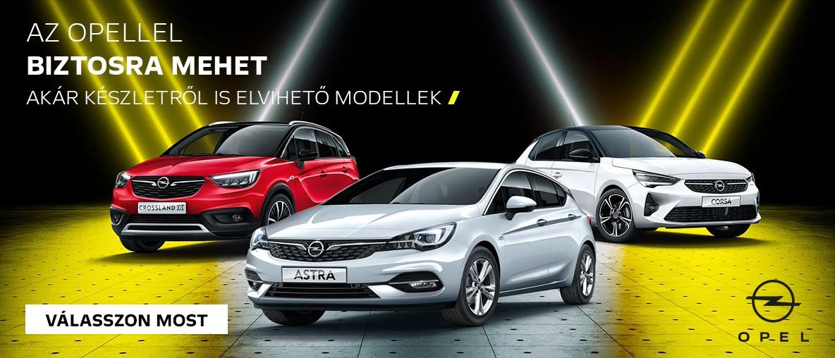 Az Opellel biztosra mehet!