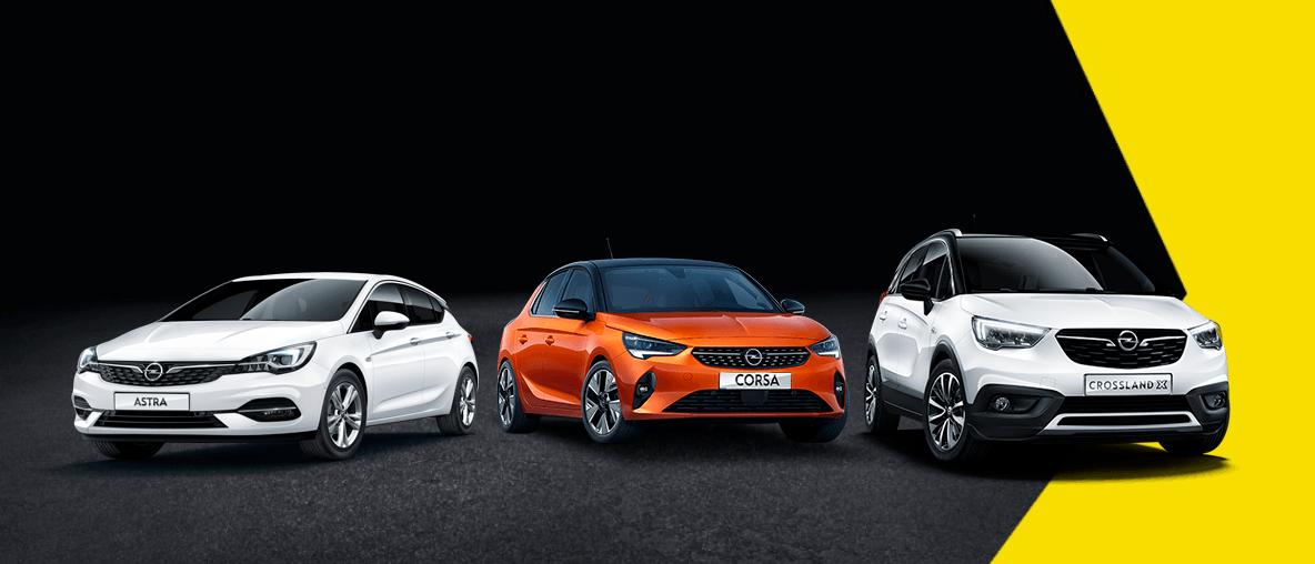 Opel modellek