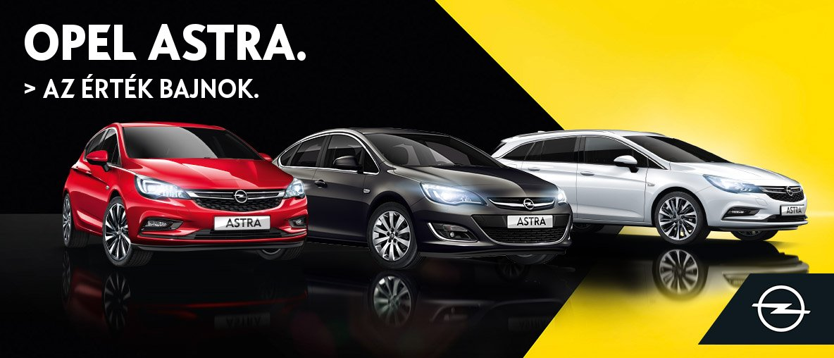 Opel Astra, az érték bajnok