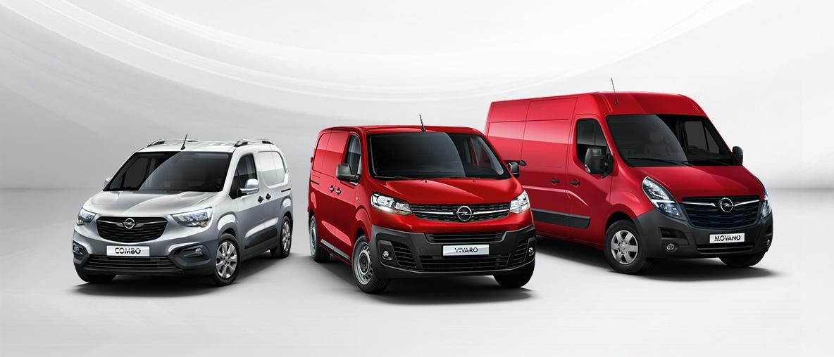 Opel Combo cargo, Vivaro Cargo, Opel Movano