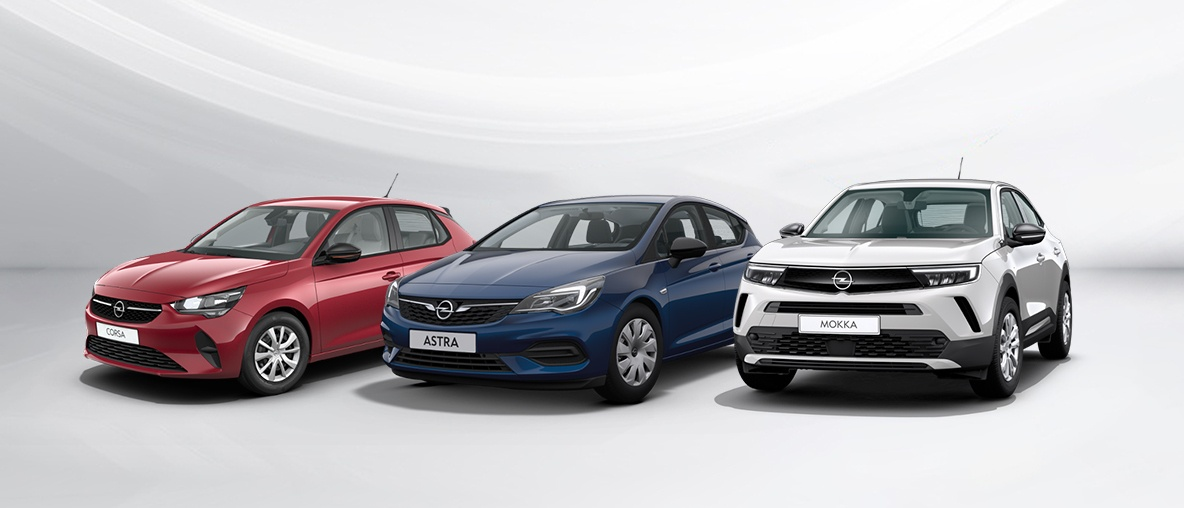 Opel Corsa, Opel Astra, Opel Mokka