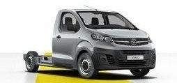 Opel Vivaro padlólemezes alváz