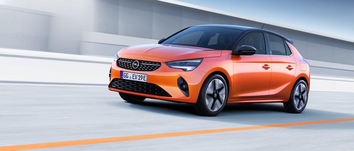új Opel Corsa készlet