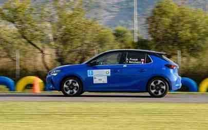 """Bajnokság kapásból: az Opel Corsa-e a """"FIA E-Rally Regularity Cup 2020"""" győztese"""