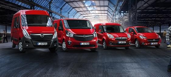 Új Opel Movano és Opel haszongépjárművek