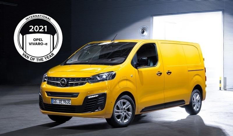 Opel Vivaro-E az év haszonjárműve