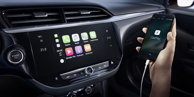 Opel Corsa-e infotainment rendszere