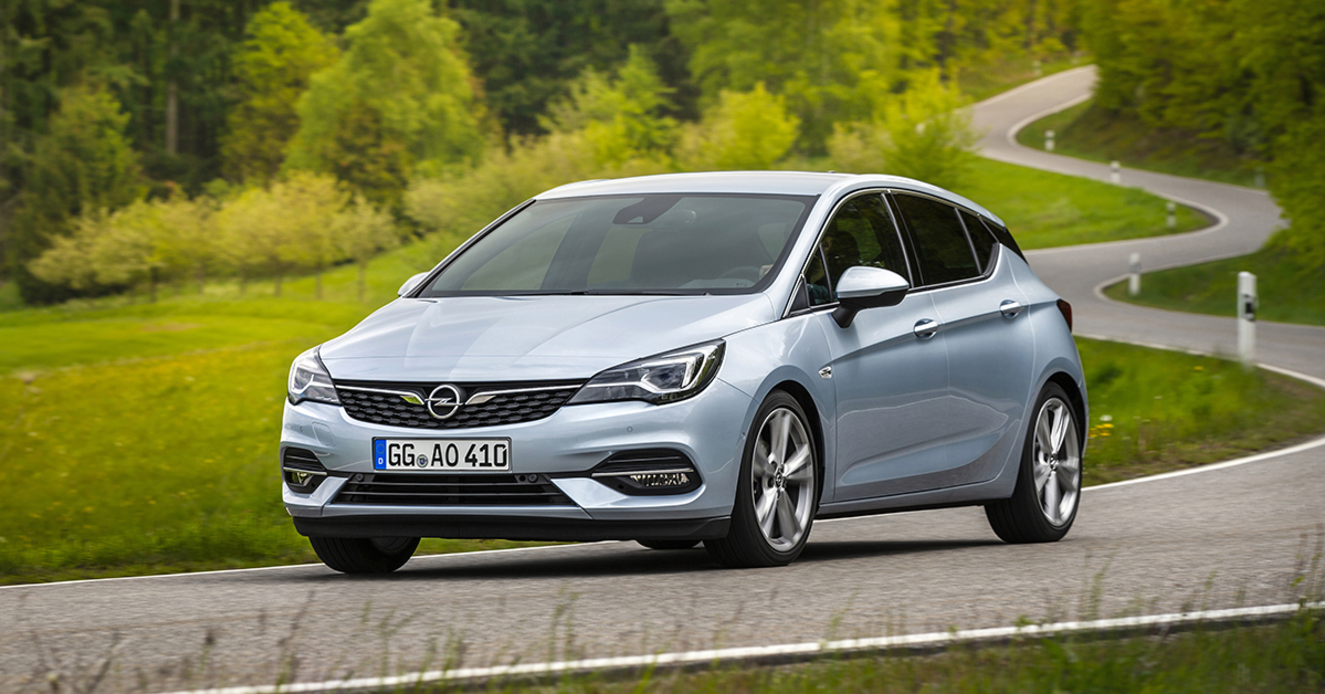 Opel Astra 5 Facelift