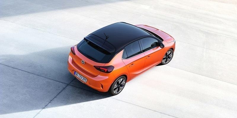 elektromos Opel Corsa-e tető