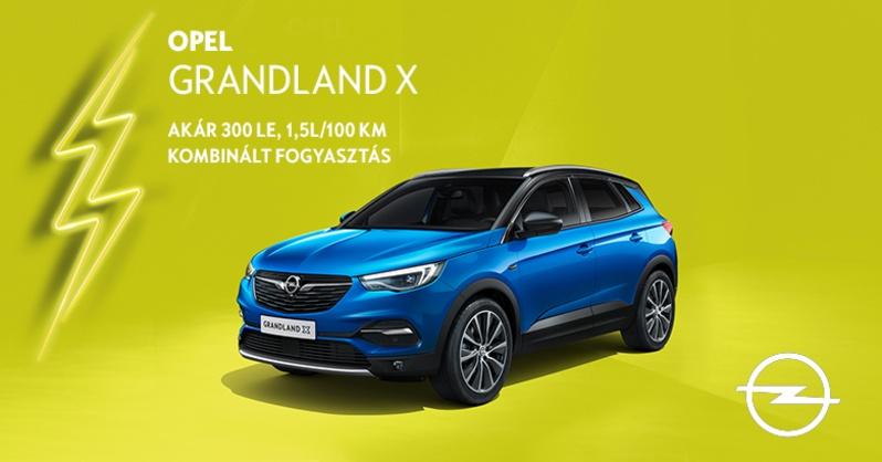 Opel Grandland X plug-in hibrid