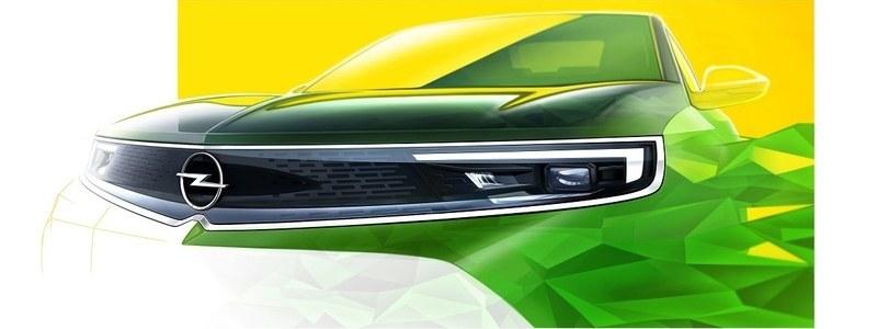 Opel Mokka új Opel Vizor