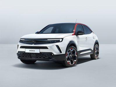fehér Opel Mokka