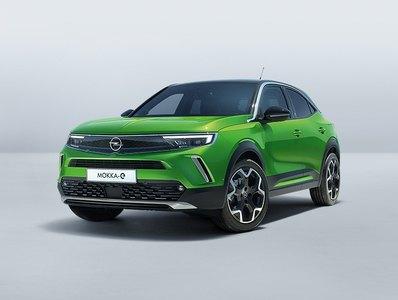 zöld Opel Mokka-e