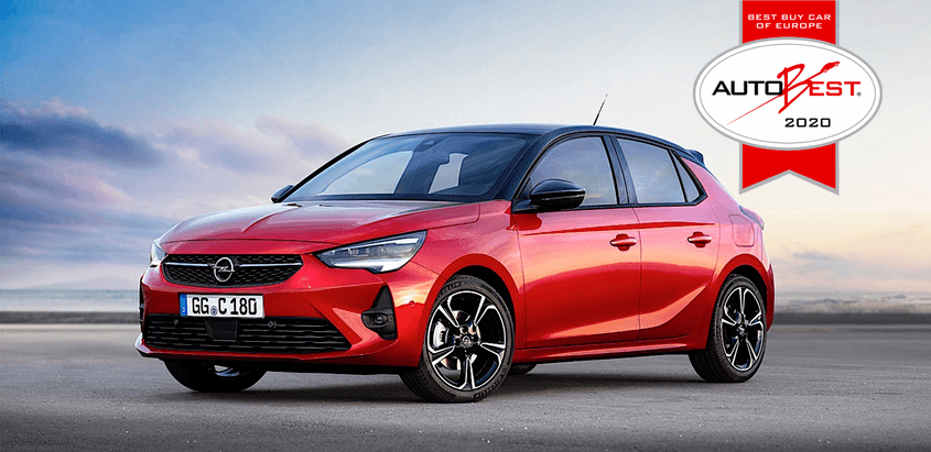 Opel Corsa Best - AutoBest díj 2020