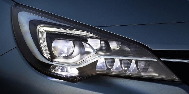Opel Astra IntelliLux Led Mátrix világítás