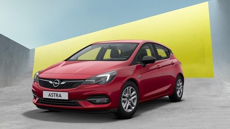piros Opel Astra Smile
