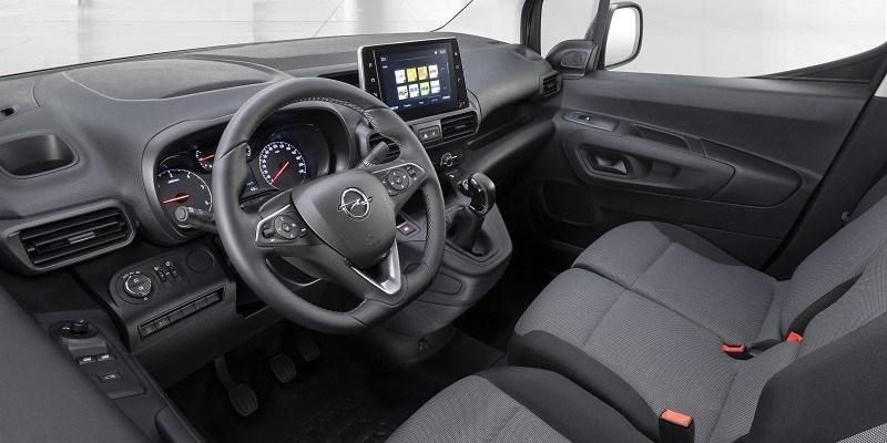 Opel Combo Cargo műszerfal