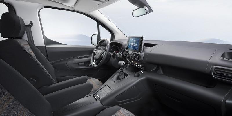 Opel Combo Life műszerfal