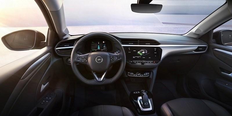Opel Corsa-e műszerfal