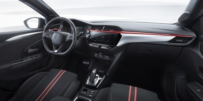 Opel Corsa belső tér