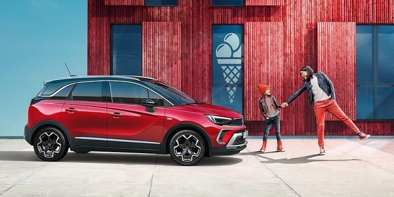 piros Opel Crossland SUV