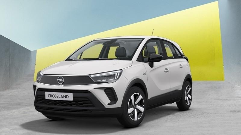fehér Opel Crossland Smile