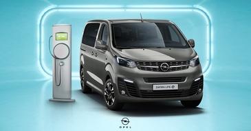 Opel Zafira-e Life elektromos autó