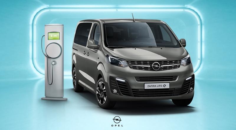 Opel Zafira-e Life elektromos nagyterű személyszállító
