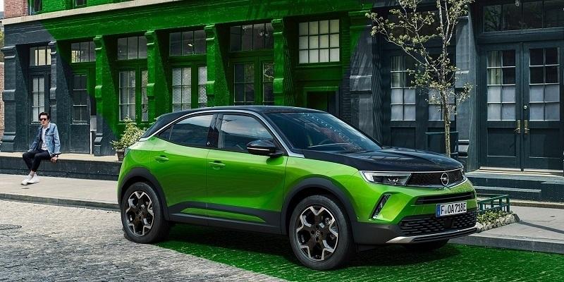 parkoló elektromos Opel Mokka-e