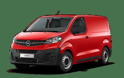 Piros Opel Vivaro