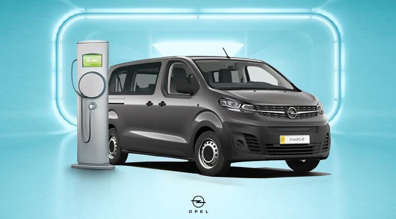 Opel Vivaro-e Kombi elektromos személyszállító