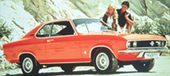 Opel Ascona, Opel Manta