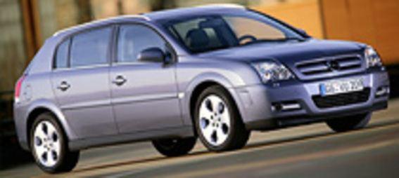 2003 Opel Signum és Opel Meriva